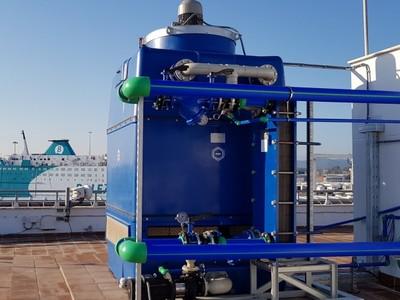 Torri a Circuito Chiuso anti-corrosione nel Porto di Algeciras