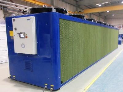 I Refrigeratori Adiabatici EWK assicurano il massimo risparmio