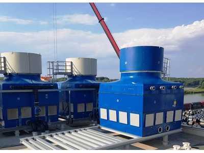 Il Gruppo Wuppermann conferma la fiducia ad EWK ed installa una quinta torre di raffreddamento